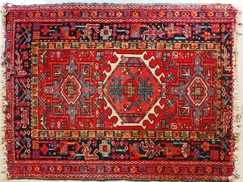 Traditionell Teppiche herstellen